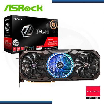 ASROCK RADEON RX 6800 XT 16GB GDDR6 256BITS OC TAICHI (PN:90-GA27ZZ-00UANZ)