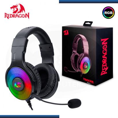 AUDIFONO REDRAGON PANDORA H350RGB-1 CON MICROFONO BLACK
