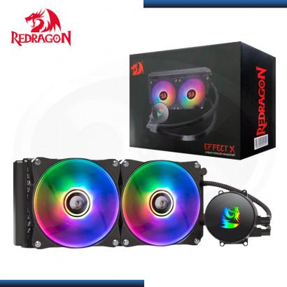 REDRAGON EFFECT X ARGB BLACK REFRIGERACION LIQUIDO AMD/INTEL (PN:CCW-3000)
