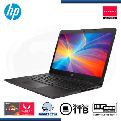 "LAPTOP HP 245 G7 AMD RYZEN 5 3500U 14""/8GB/1TB/ FREEDOS"