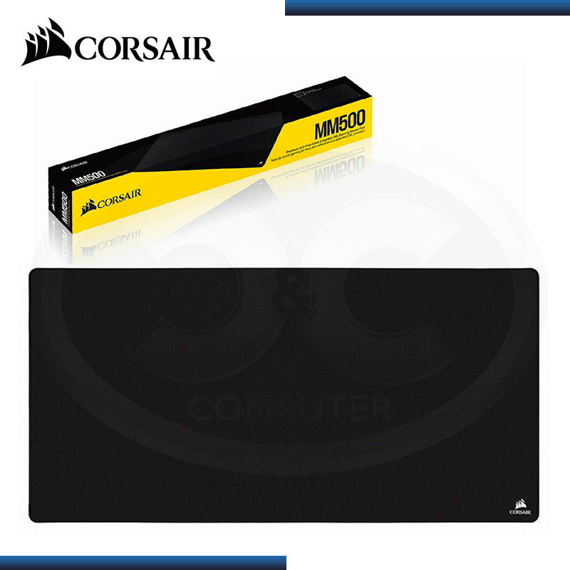 PAD MOUSE CORSAIR MM500 3XL EXTENDED BLACK 1220mm x 610mm (PN:CH-9415080-WW)