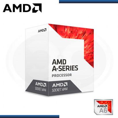 PROCESADOR AMD APU A6-9500 3.50GHZ/1MB 8 CORE AM4 (PN:AD9500AGABBOX)