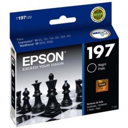 TINTA EPSON 197 (T197120) NEGRO