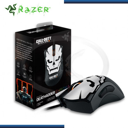 MOUSE RAZER DEATHADDER CHROMA CALL OF DUTY GAMING BLACK USB (PN:RZ01-01210200-R3M1)