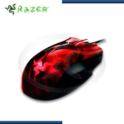 MOUSE RAZER NAGA EXPERT MOBA GAMING RED USB (PN:RZ01-00750200-R3U1)
