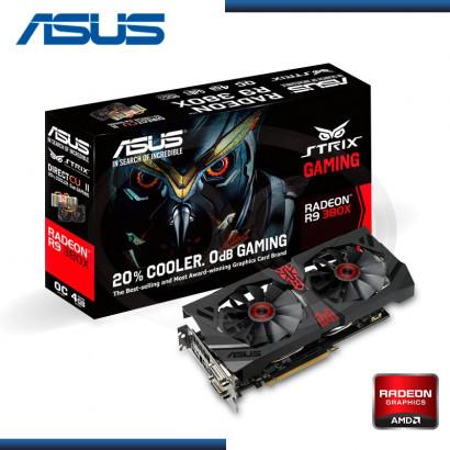 4GB PCI EXPRESS ASUS RADEON R9 380X  GDDR5 (PN:STRIX-R9380X-OC4G-GAMING)