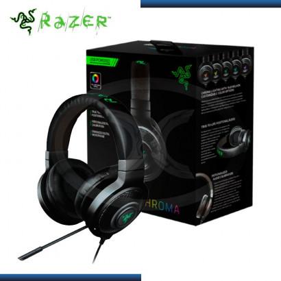 AUDIFONO C/ MICROFONO RAZER KRAKEN 7.1 CHROMA USB GAMING BLACK (PN:RZ04-01250100-R3U1)