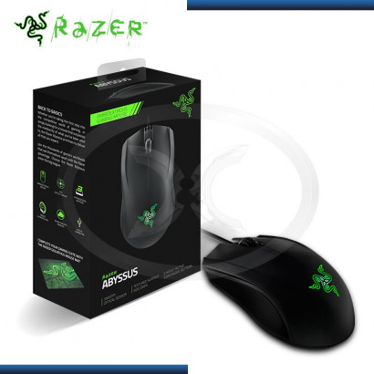 MOUSE RAZER ABYSSUS AMBIDEXTROUS GAMING BLACK USB (PN:RZ01-01190100-R3U1)