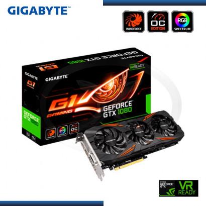 8GB PCI EXPRESS GIGABYTE GEFORCE GTX 1080 OC GDRR5 (PN:GV-N1080G1 GAMING-8GD)