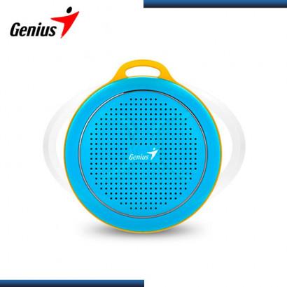 PARLANTE BLUETOOTH GENIUS SP-906BT BLUE/YELLOW RMS:3W (PN 31731070101)
