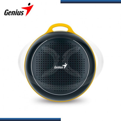 PARLANTE BLUETOOTH GENIUS SP-906BT BLACK/YELLOW 3W RMS (PN 31731070100)