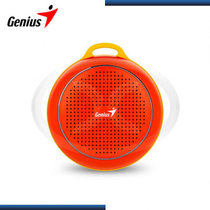 PARLANTE BLUETOOTH GENIUS SP-906BT RED/YELLOW 3W RMS (PN 31731070104)