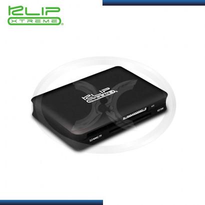 CARD READER & HUB 3 PUERTOS USB 2.0 KLIP  XTREME KHC-345