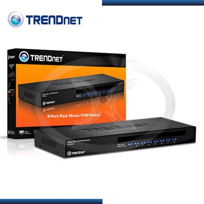 KVM TRENDNET TK-803R 8 PUERTOS VGA, USB & PS/2