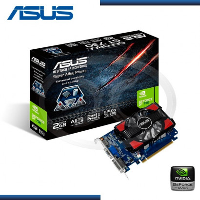 2GB PCI EXPRESS ASUS GEFORCE GT 730 DDR3 (PN:GT730 - 2GD3)