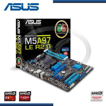 PLACA ASUS M5A97 LE R2.0 C/ S-R AM3+, ATX, BOX