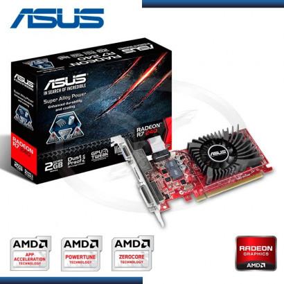 VIDEO PCI-E ASUS AMD RADEON R7 240 2GB DDR3