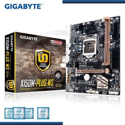 MB GIGABYTE GA- X150M-PLUS WS C/ SONIDO-RED DDR4 USB 3.0 SOCKET 1151