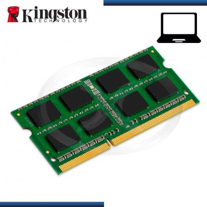 MEMORIA SODIMM KINGSTON DDR3 8GB BUS 1600 MHZ, 1.5V  (MOD:KCP316SD8/8)