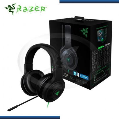 AUDIFONO C/ MICROFONO RAZER KRAKEN GAMING BLACK USB (PN:RZ04-01200100-R3U1)