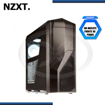 CASE NZXT PHANTOM 410 MID TOWER, SIN FUENTE, GUNMETAL USB 3.0 (PN:CA-PH410-G1)