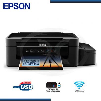 IMPRESORA MULTIFUNCIONAL EPSON L375  IMPRE/COPIA/ESCA/WIFI (P/N:C11CE92303)
