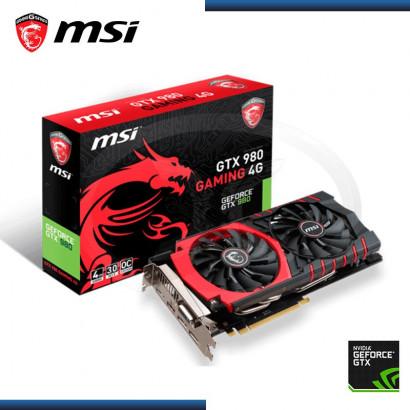 4GB PCI EXP. MSI GEFORCE GTX 980 GAMING GDDR5, 256 BITS OC (PN:912-V317-022)
