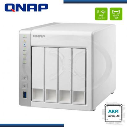 QNAP TS-431-NAS server - 4 bays - SATA 6Gb/s - 1.2GHZ  USB 3.0 X3 ,512MB