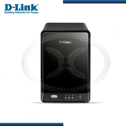 GRABADOR P/ CAMARAS IP D-LINK DNR-322L, 2 BAHIAS, USB (G. LA MARCA-080000968)