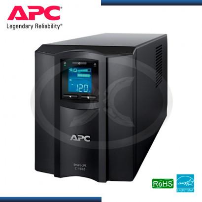UPS APC SMART C1000 VA LCD 230V 8 SALIDAS MOD:SMC10001