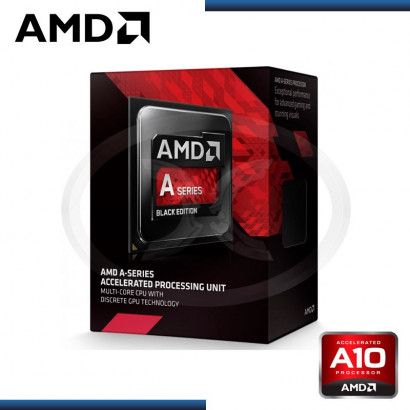 PROCESADOR AMD APU A10 - 7860K 3.6 /4.0GHZ 4MB S.FM2+ / (AD786KYBJCSBOX )