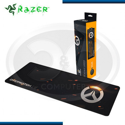 PAD MOUSE RAZER GOLIATHUS OVERWATCH EDITION EXTENDED SPEED BLACK (PN:RZ02-01071600-R3M1)
