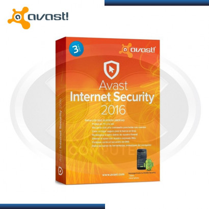 AVAST INTERNET SECURITY 2016 3PC (6773312)