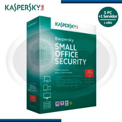 KASPERSKY SMALL OFFICE SECURITY 1 SERVIDOR Y 5 USUARIOS  *KL4533DUEFS-KISA*