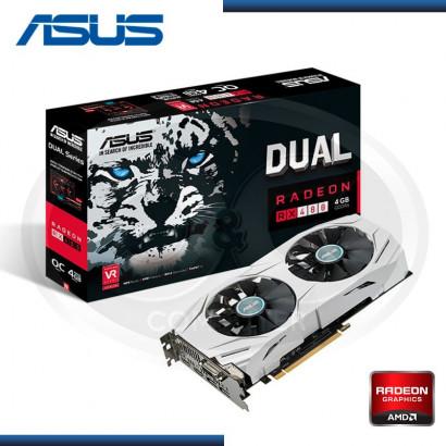 4GB PCI EXPRESS ASUS DUAL RADEON RX 480 GDDR5  256 BIT(PN:90YV09I0-MONA00)