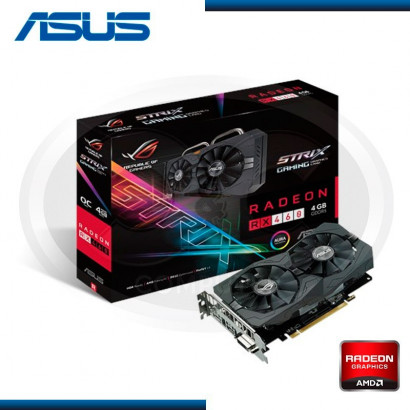 VIDEO PCI EXP. ASUS STRIX- RADEON RX 460 4GB, GDDR5, 128 BITS  (PN: STRIX- RX460- O4G- GAMING)