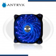 COOLER DE CASE ANTRYX XTREME FLOW 120MM BLUE 15 LED 1200RPM (PN:AF-XFR120L15B)