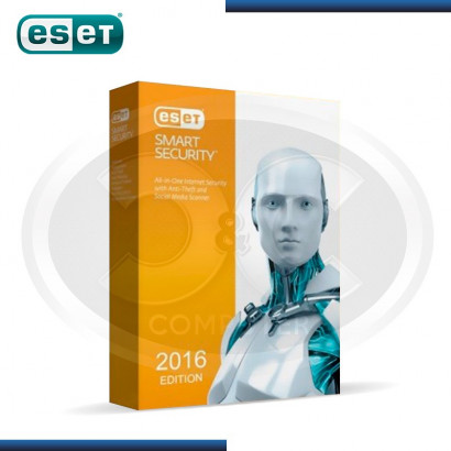ESET SMART SECURITY V.2016 ANUAL 1PC