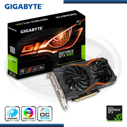 VIDEO PCI EXP. GEFORCE GIGABYTE GTX 1050 OC 2GB GDDR5 128BIT/RGB