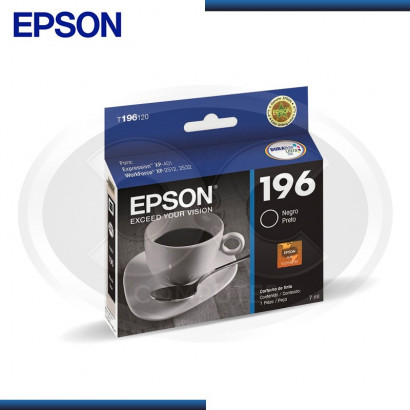 TINTA EPSON STYLUS 196  NEGRO  / T196120