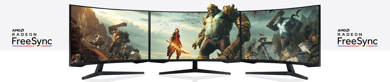 MONITORES GAMING AMD FREESYNC