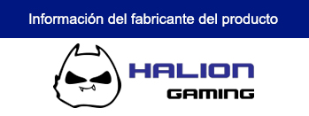 CASE HALION GAMING HUNTER C807 SIN FUENTE VIDRIO TEMPLADO