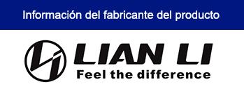 CASE LIAN LI PC-011 DYNAMIC BLACK SIN FUENTE VIDRIO TEMPLADO USB 3.1 /USB 3.0 (PN:G99.011DX.00)
