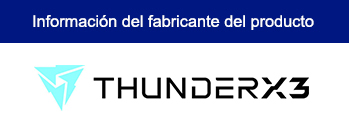 ESCRITORIO GAMING THUNDERX3 ED5 (PN:DESK-FIXED-V1)