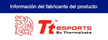 KIT TTeSPORT CHALLENGER PRIME RGB TECLADO MEMBRANA + MOUSE 3200 DPI