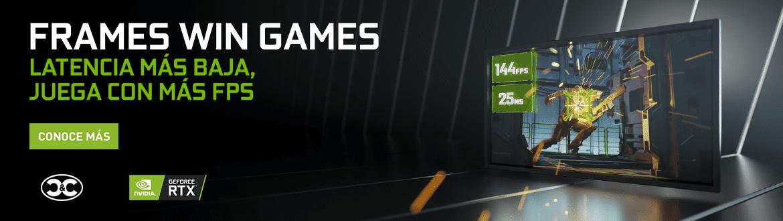 GEFORCE FRAMES WIN GAMES